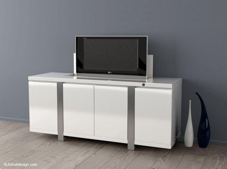 3) Je dissimule ma TV dans un meuble, derrière un cadre ou un miroir ! (image_2)