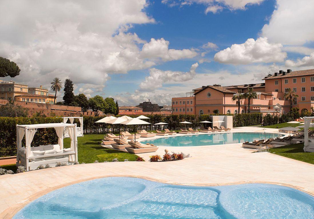 35bGranMeliaRomeVillaAgrippina--Pool