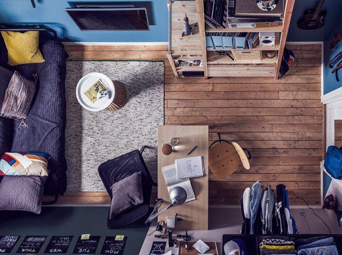 5 façons d\'aménager un coin bureau dans une chambre d\'ado ...