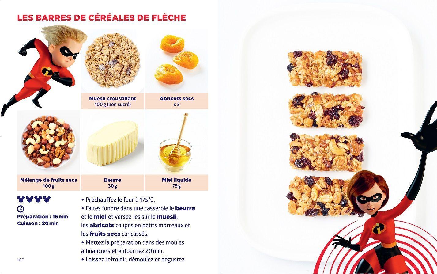 Barres cereales Fleche - Simplissime Disney