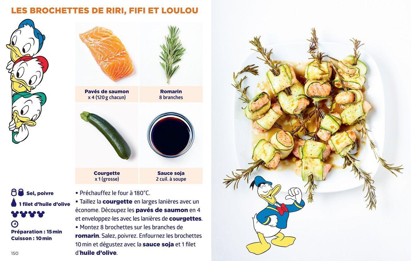 Brochettes Riri Fifi Loulou - Simplissime Disney