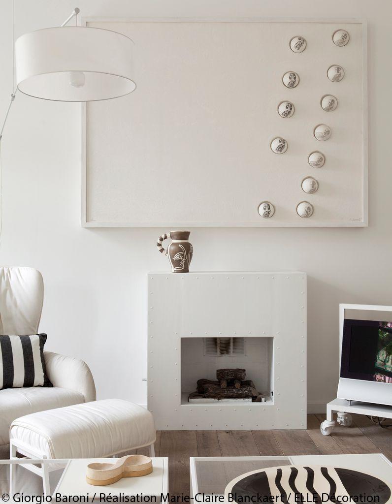 cheminee-design-blanche