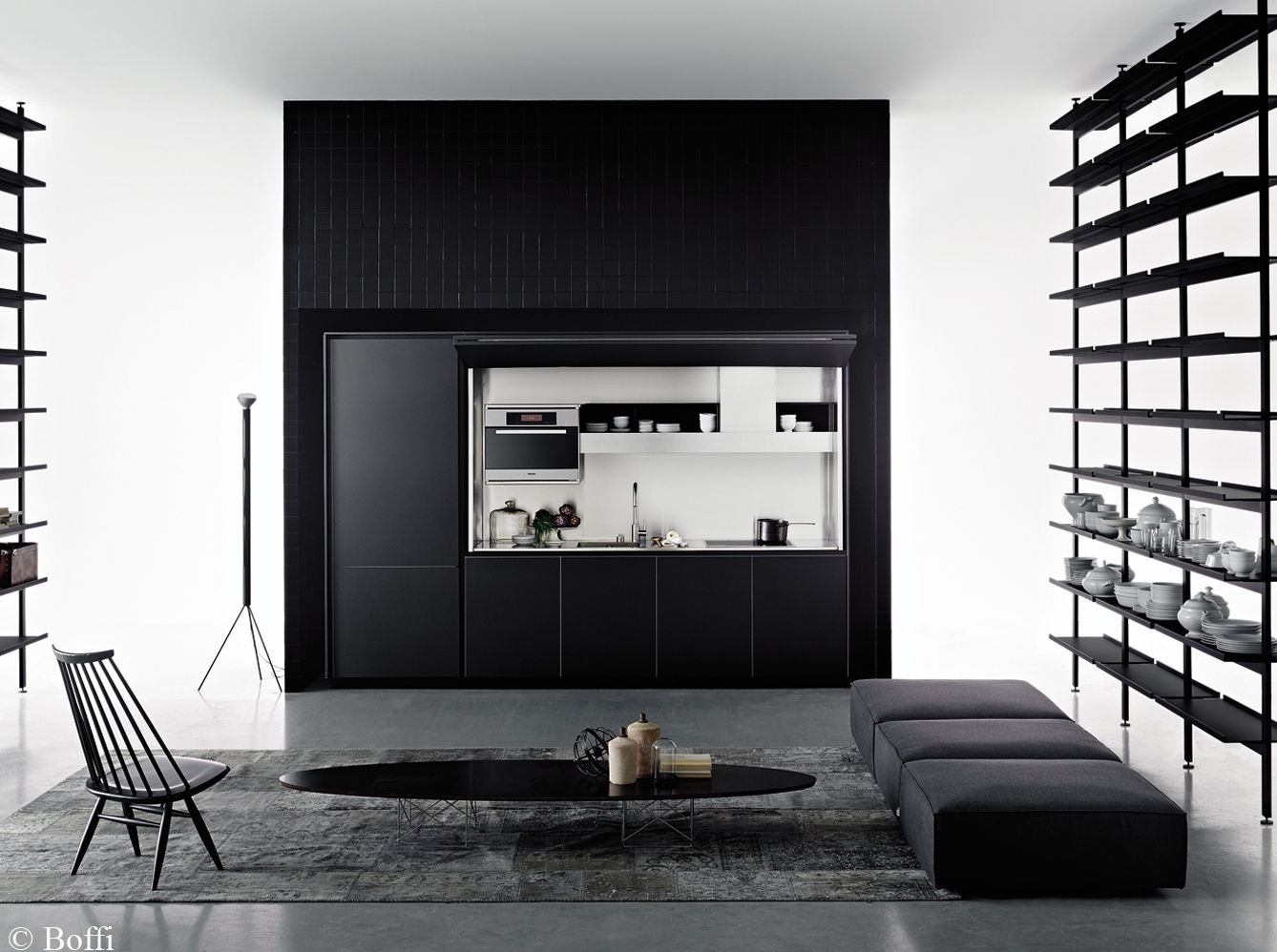 id es d co pour une cuisine chic et l gante elle d coration. Black Bedroom Furniture Sets. Home Design Ideas