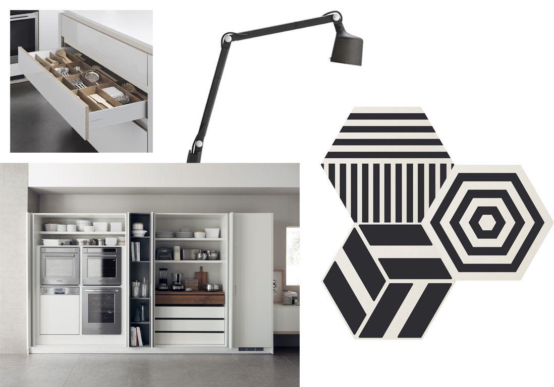 cuisine-noir-et-blanc-contemporaine