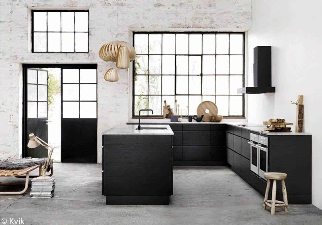 cuisine-noire-et-marbre