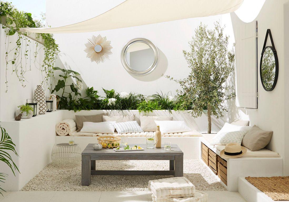 Les 5 secrets d\'une terrasse relookée à petit prix - Elle Décoration
