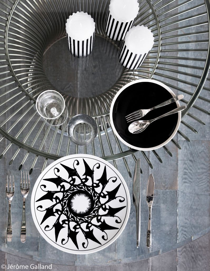 decoration-de-table-grise