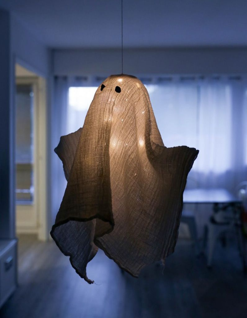 DIY fantome Halloween