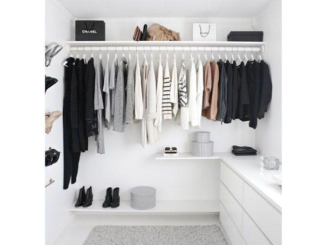 Dressing : 5 idées pratiques pour l\'aménager - Elle Décoration