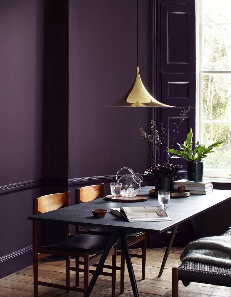 Le violet, une couleur has been ou à oser en déco ? - Elle Décoration