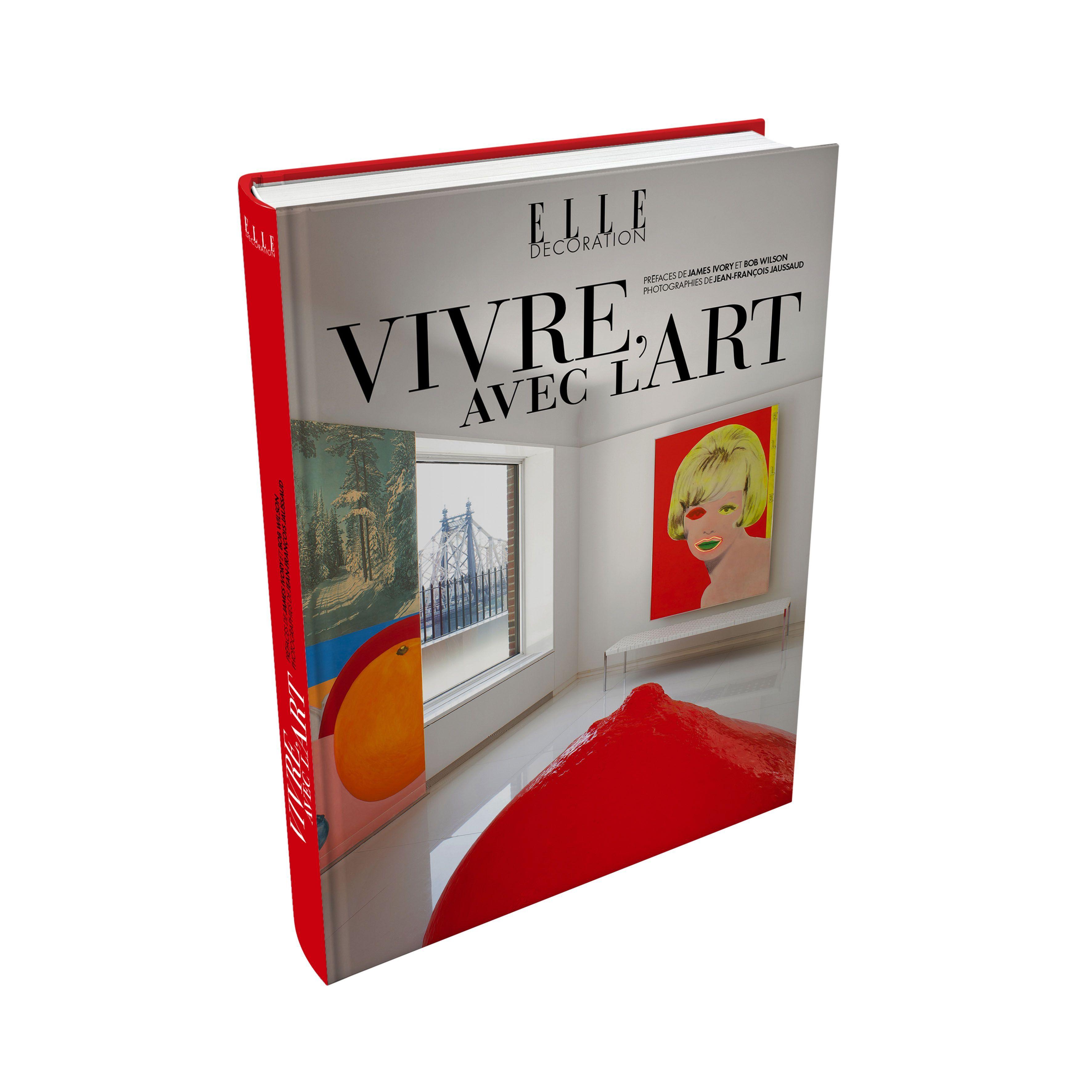 ELLE DECO VIVRE AVEC L'ART 3D Livre