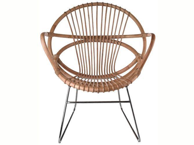 Fauteuil rotin : 5 styles de fauteuil en rotin - Elle Décoration
