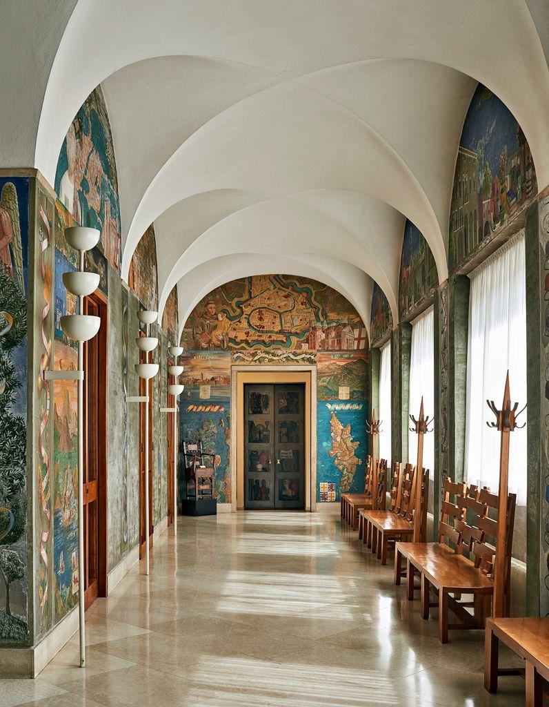 Galerie de l appartement du recteur de l'université de Padoue