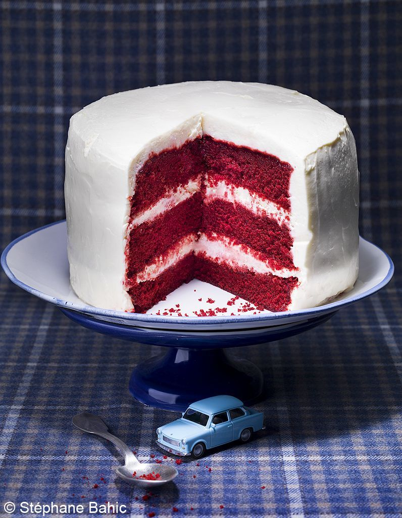 Gâteau red velvet au cacao