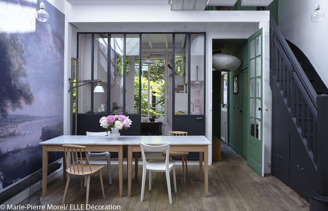 visite en 3d d 39 un petit atelier parfaitement am nag elle d coration. Black Bedroom Furniture Sets. Home Design Ideas