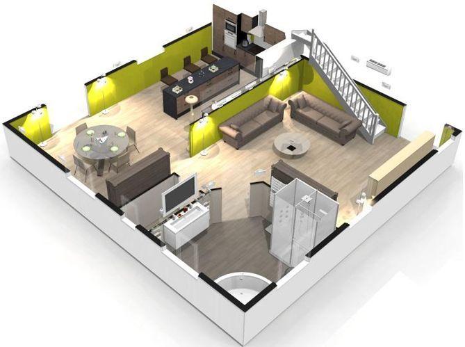 homebyme un super site pour cr er sa maison en 3d elle d coration. Black Bedroom Furniture Sets. Home Design Ideas