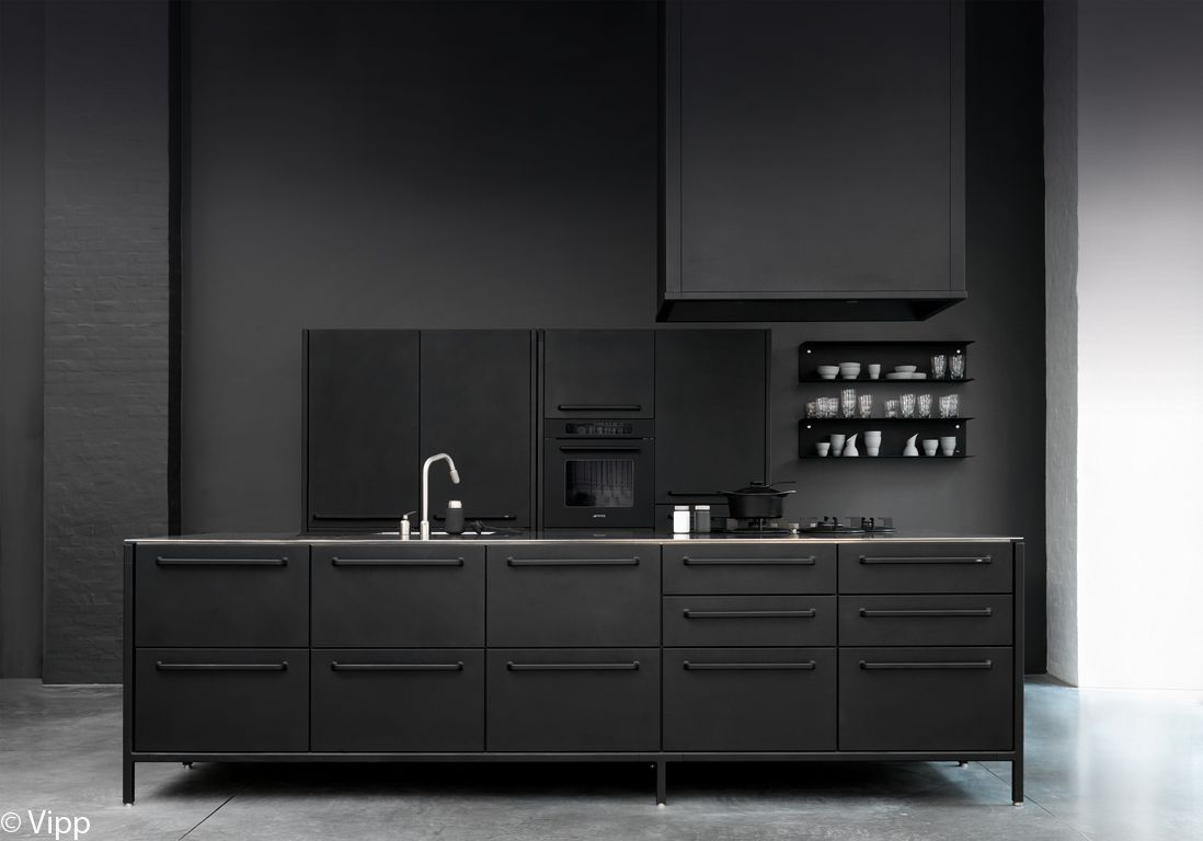 am nager une cuisine design les 10 commandements d 39 une cuisine design elle d coration. Black Bedroom Furniture Sets. Home Design Ideas