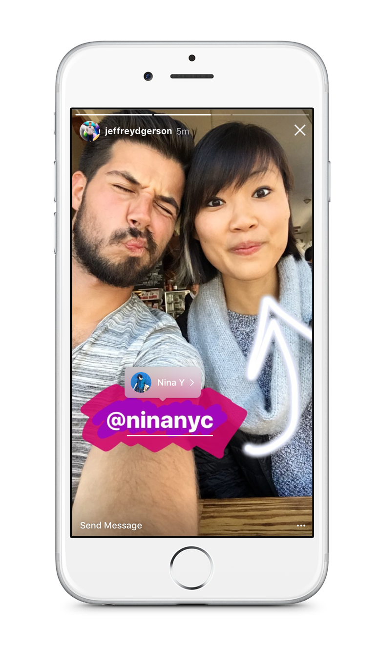 In Phone 2_Instagram Stories_Mentions Consumption