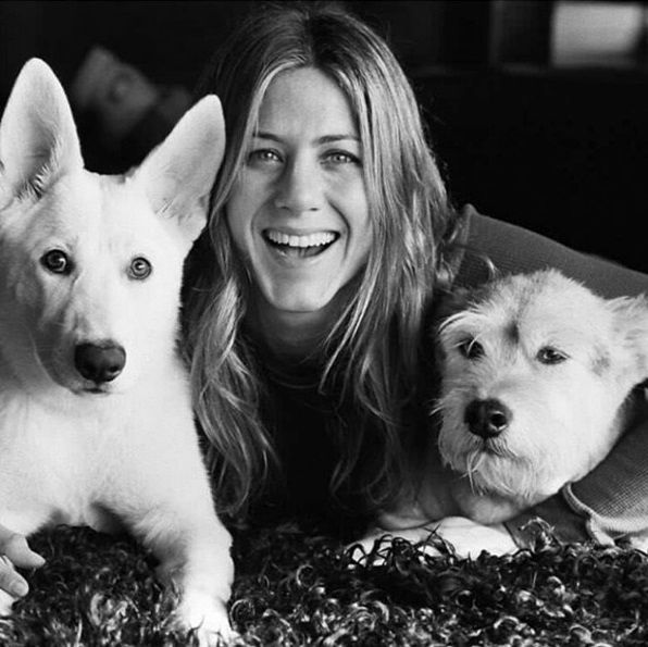 Jennifer Aniston entre ses copines Dolly et Sophie
