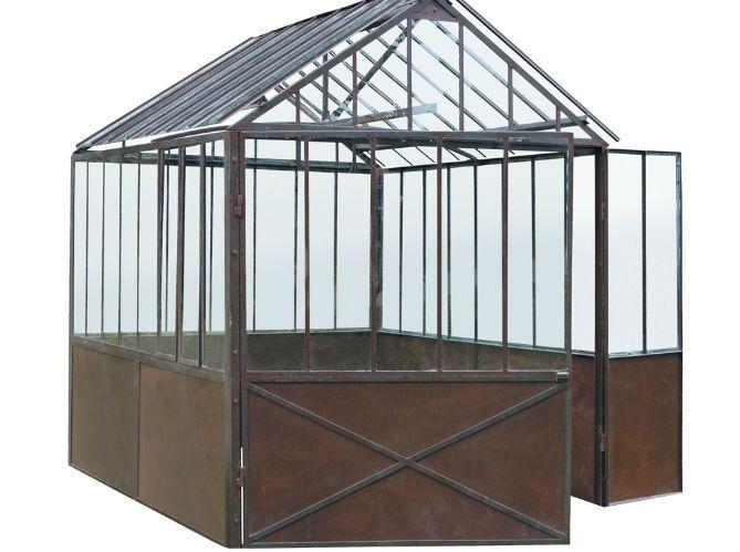 Construire son abri de jardin elle d coration - Abri de jardin en fer ...