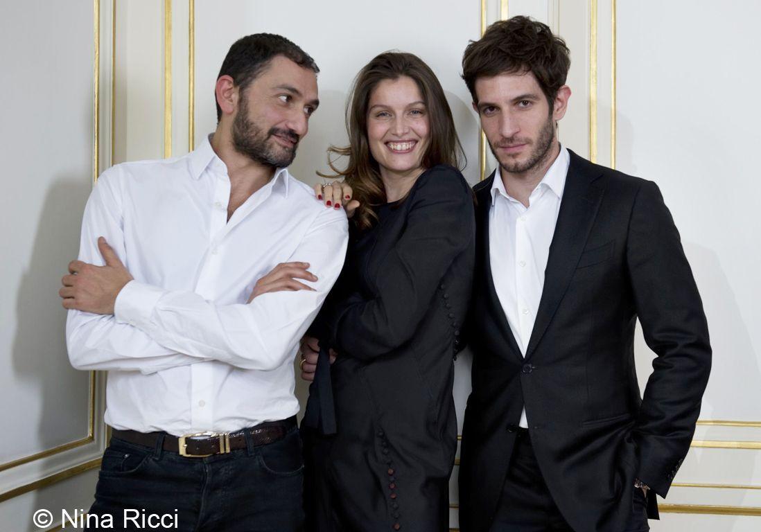 Laetitia Casta et Francis Kurkdjian pour L'Extase de Nina Ricci
