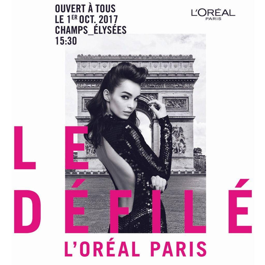 Le Défilé L'Oréal Paris POSTER
