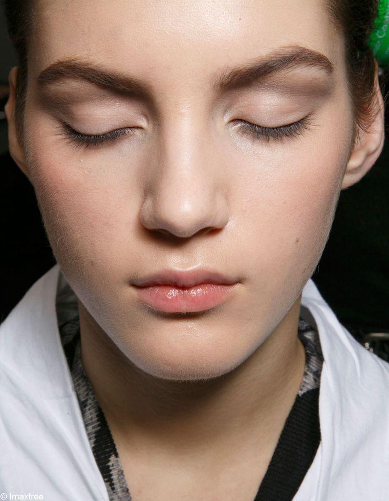 Le look maquillage Dior Couture Printemps-été 2015-Imaxtree