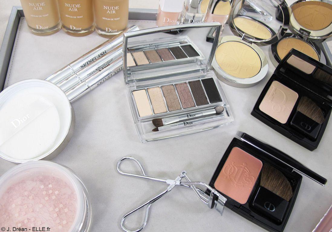 Le maquillage utilisé sur le défilé Dior Couture Printemps-été 2015