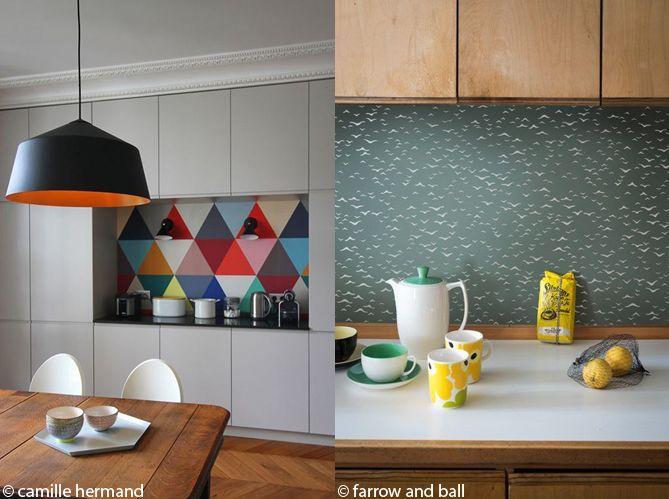 Le papier peint dans une cuisine, ça change tout ! (image_2)