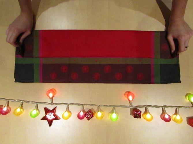 Comment Plier Vos Serviettes De Table Pour Noël Elle