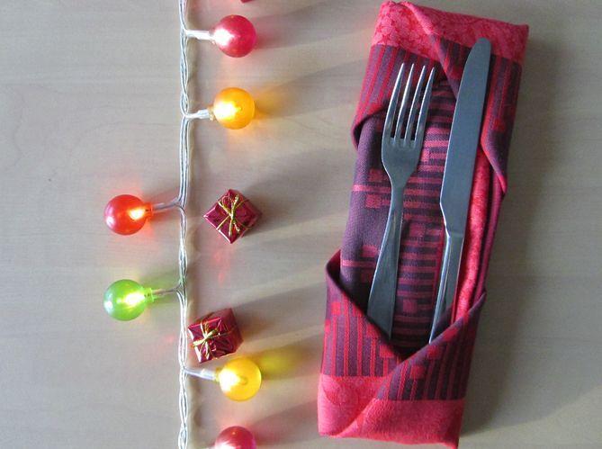 Le plus pratique : plier sa serviette comme en écrin pour ses couverts (image_5)