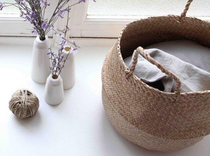 Leçon de déco : 5 façons d'utiliser le panier dans son intérieur (image_1)
