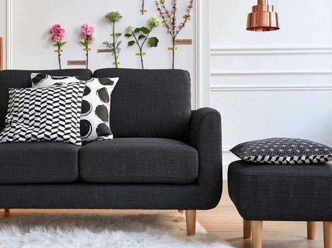 le on de d co relooker son canap sans le changer elle d coration. Black Bedroom Furniture Sets. Home Design Ideas