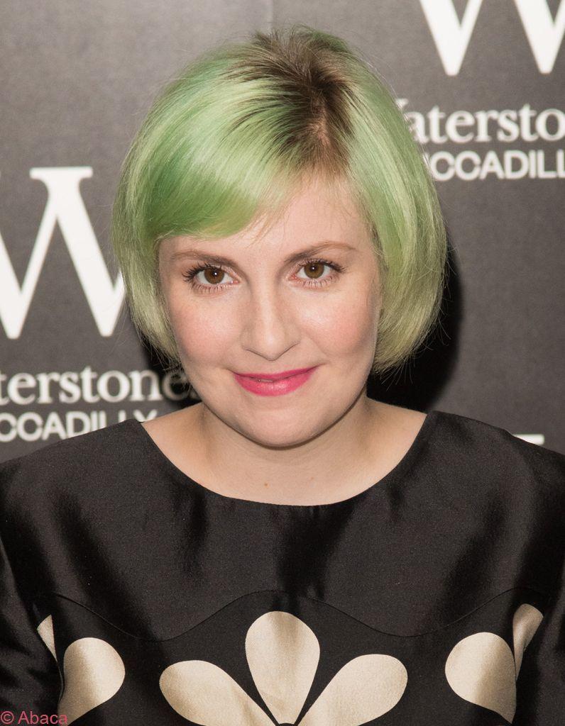 Lena-Dunham-cheveux-verts