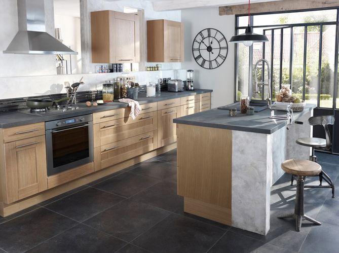 Les 4 r gles d 39 or d 39 une cuisine ouverte elle d coration - Plan de maison avec cuisine ouverte ...