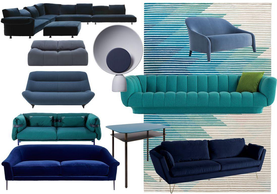 les plus beaux canap s de la rentr e elle d coration. Black Bedroom Furniture Sets. Home Design Ideas