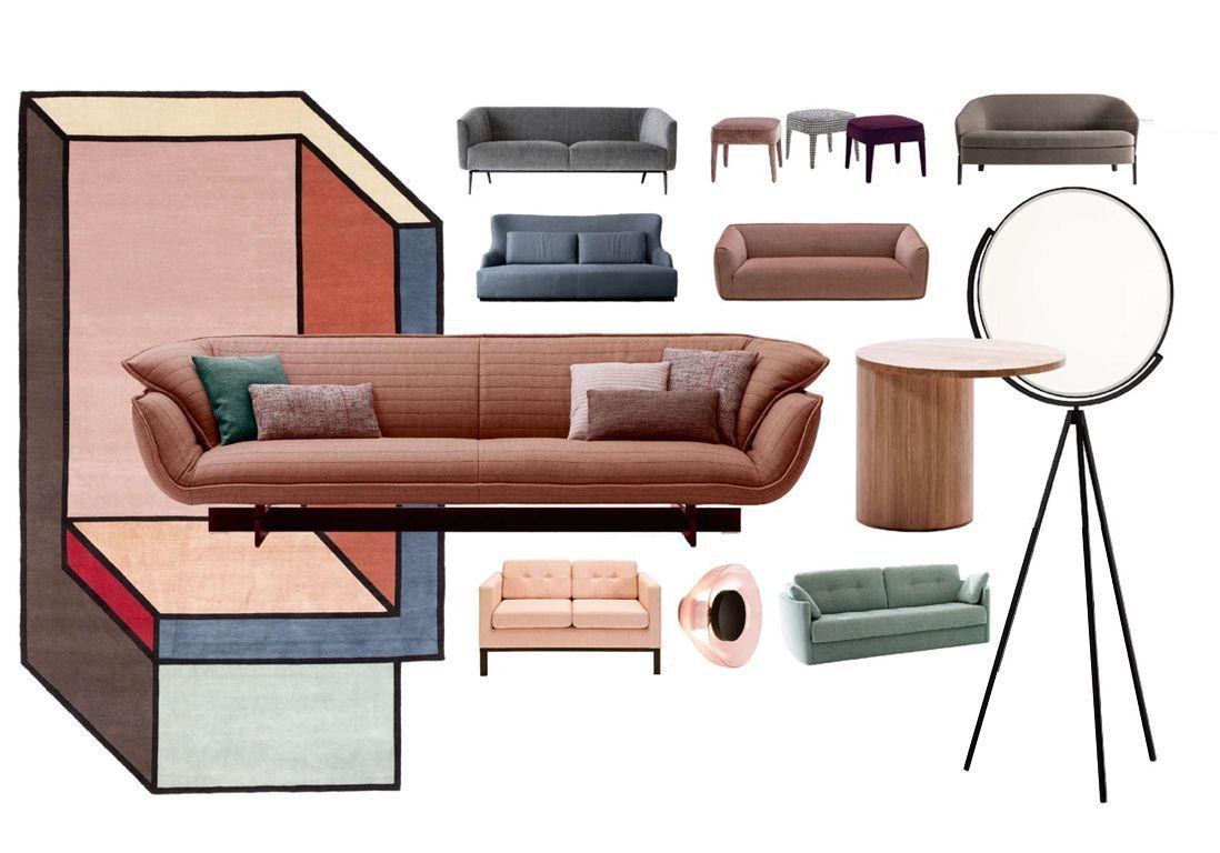 Canapé En Toile De Jute les plus beaux canapés de la rentrée - elle décoration