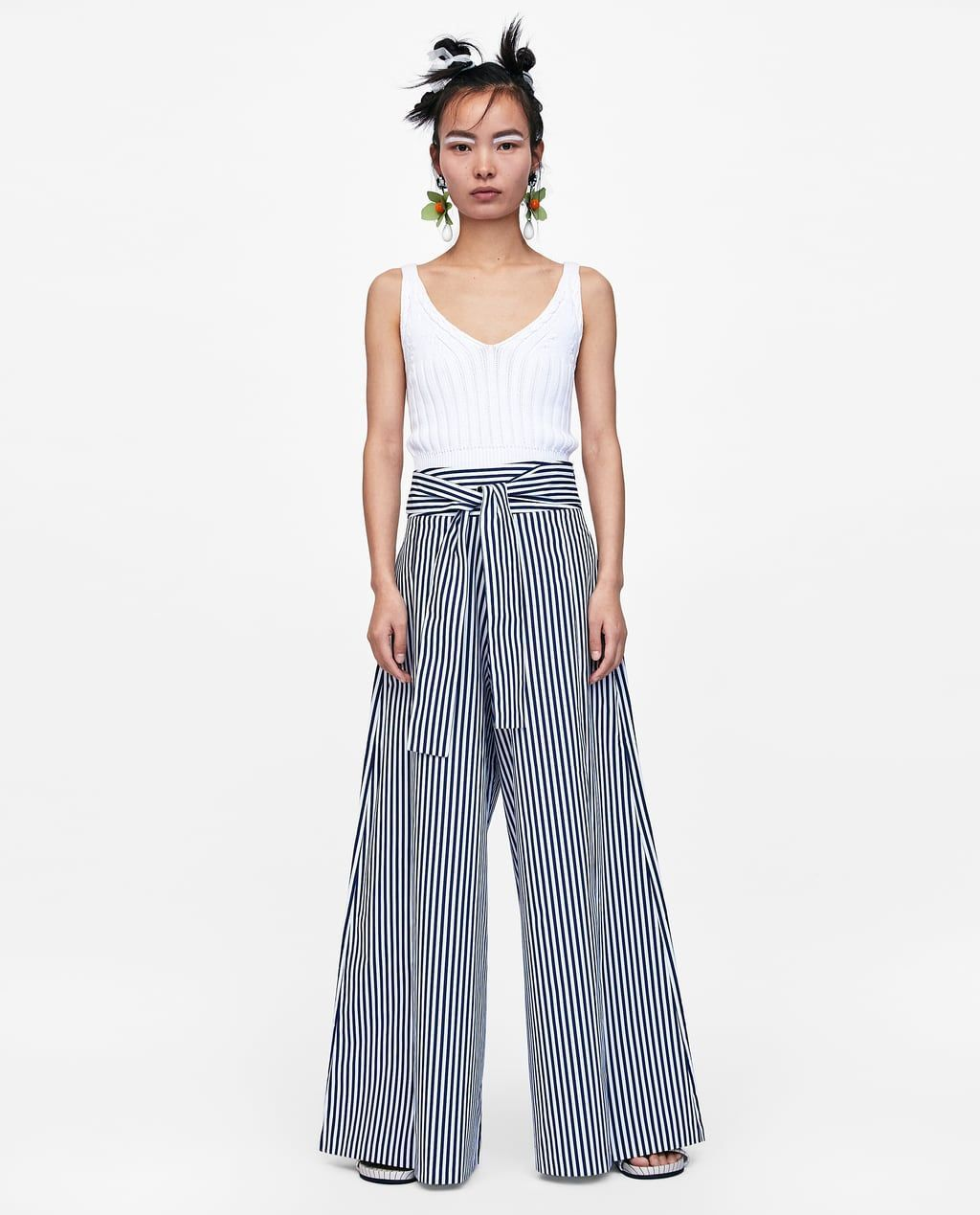 pantalon drapé