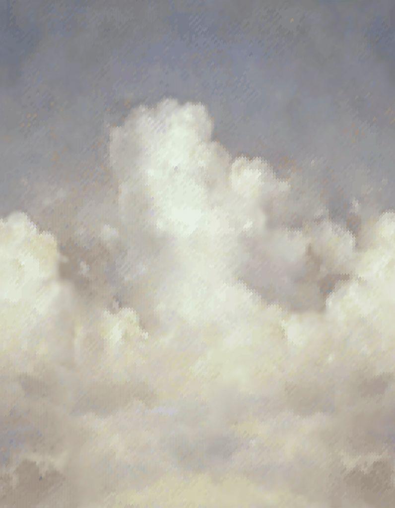 Papier Peint Pierre Frey maxi-tendance : on veut du papier peint nuage - elle décoration