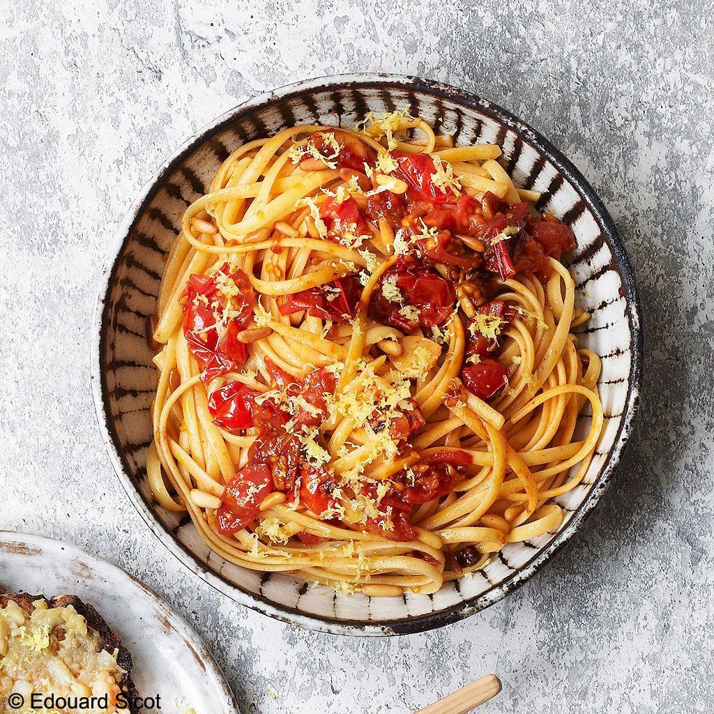 Pâtes tomate citron-Edouard-Sicot-