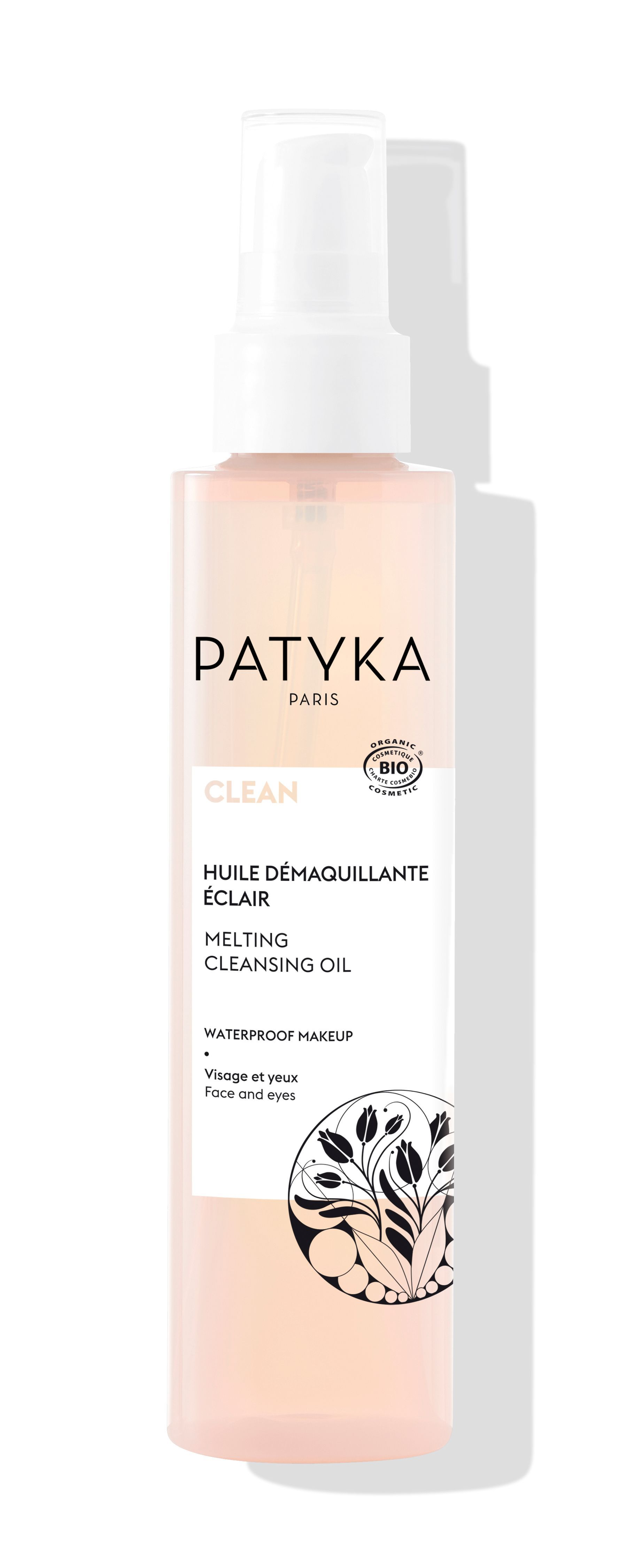 PATYKA - CLEAN - Huile Démaquillante Eclair