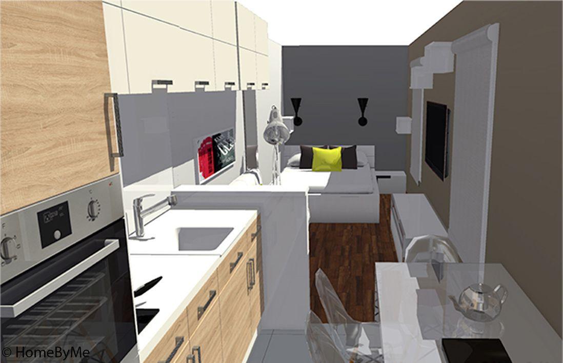 Visite En 3d D Un Studio Ultra Fonctionnel Elle Decoration