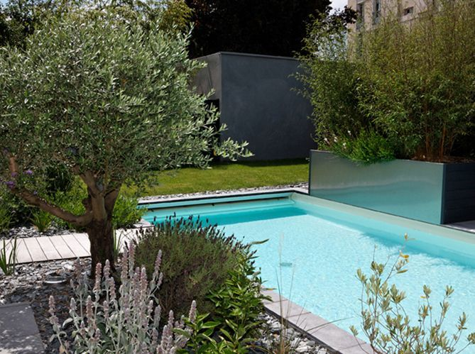 Quel jardin m diterran en pour ma piscine elle d coration - Amenagement bord de piscine ...