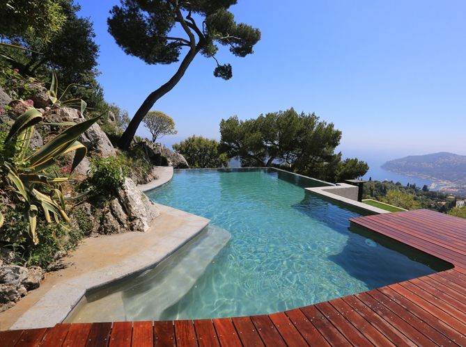 quel jardin m diterran en pour ma piscine elle d coration. Black Bedroom Furniture Sets. Home Design Ideas