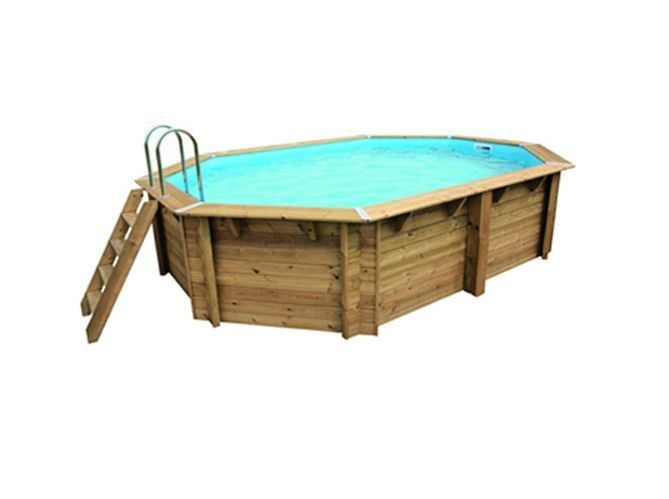 piscine hors sol ronde Étang-Salé