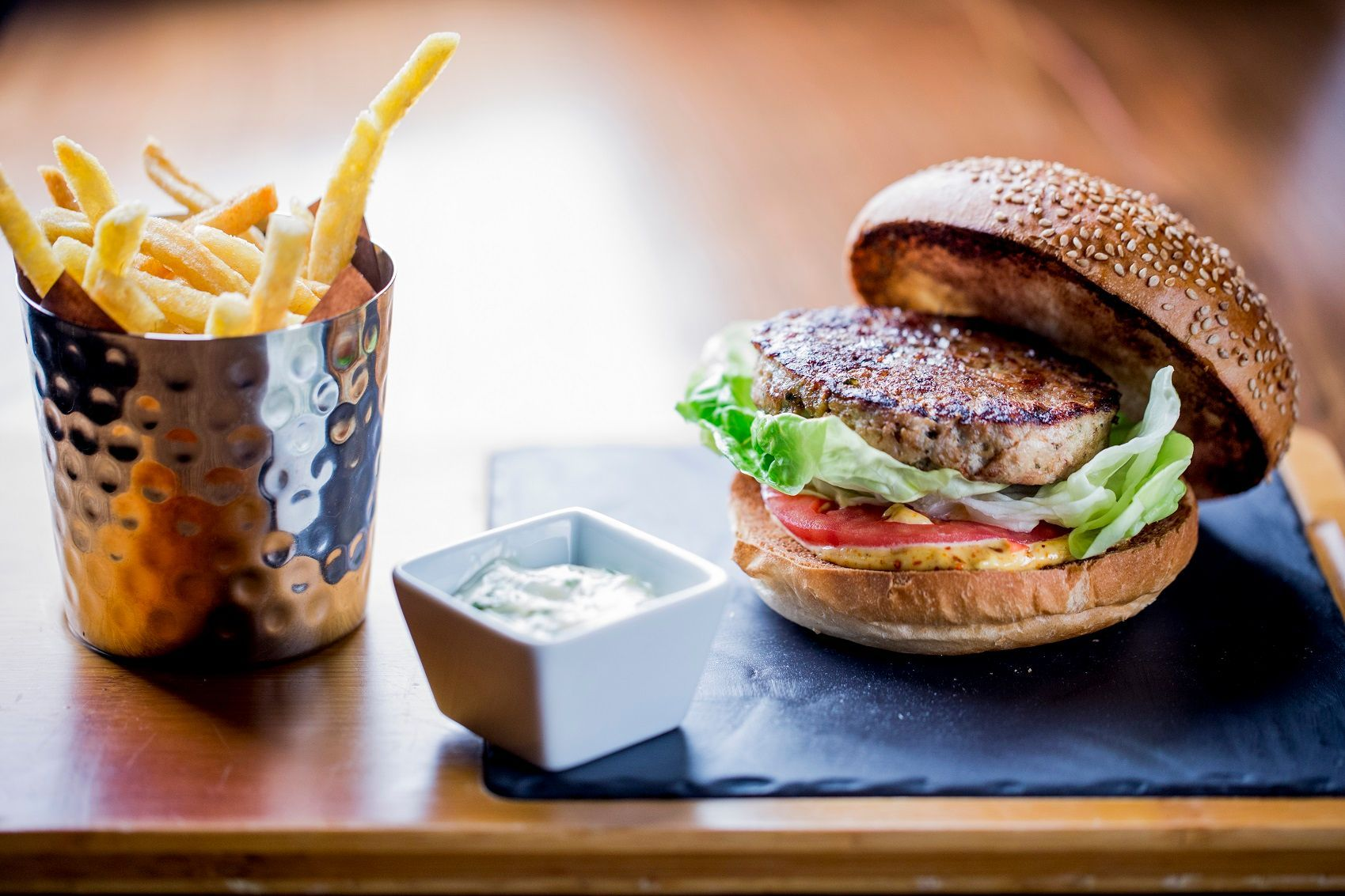 ®pierremonetta Burger de Poulet Thai - Buddha-Bar Hotel Paris ok