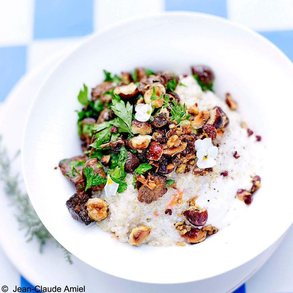 risotto quinoa