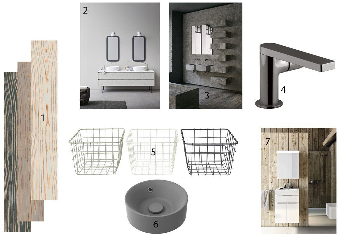 salle de bains mi-bois mi-pierre