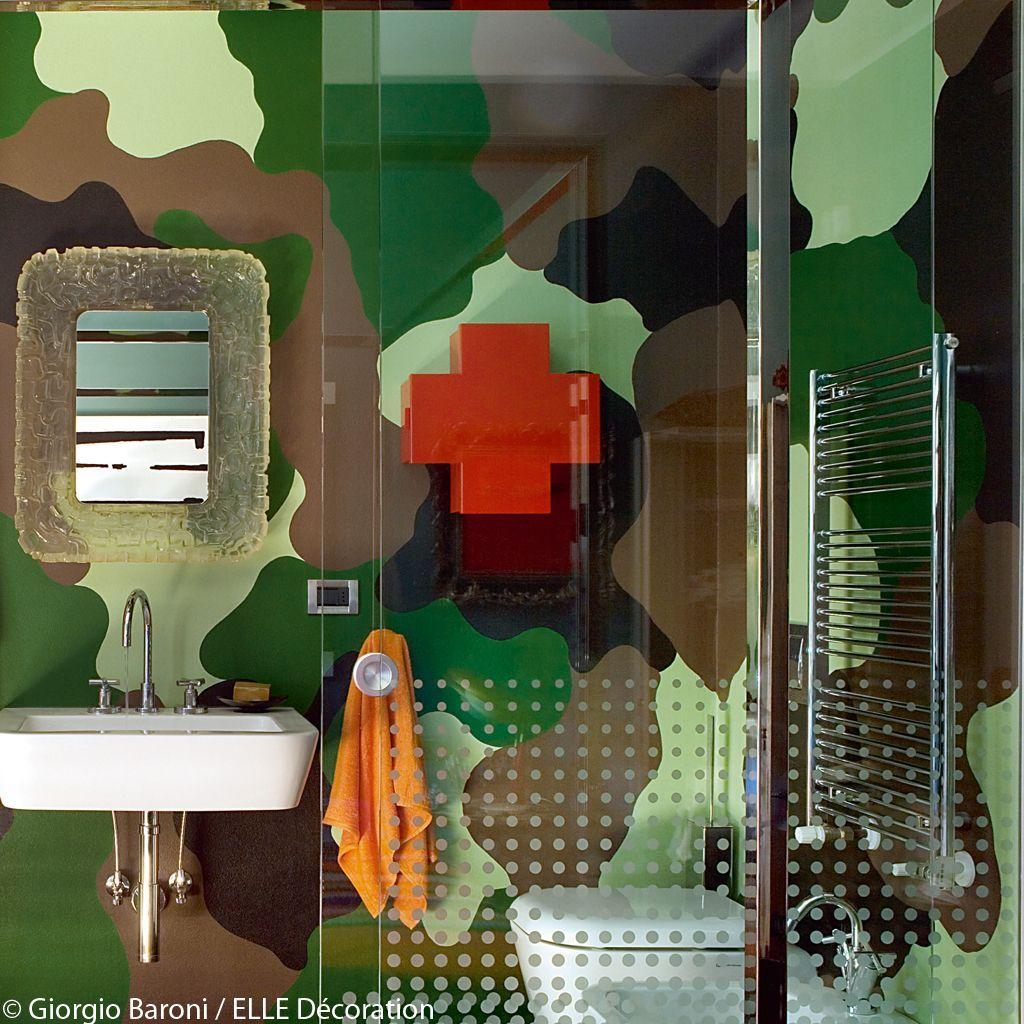salle de bains millitaire
