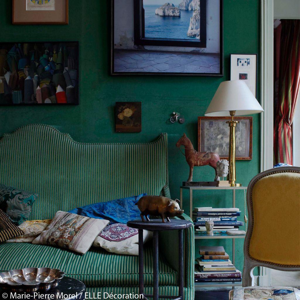 salon meuble et objet chiné